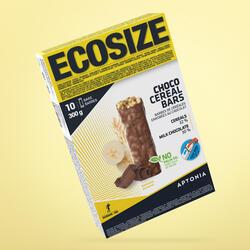 Barra de cereais cobertura ECOSIZE banana chocolate 10x30 g