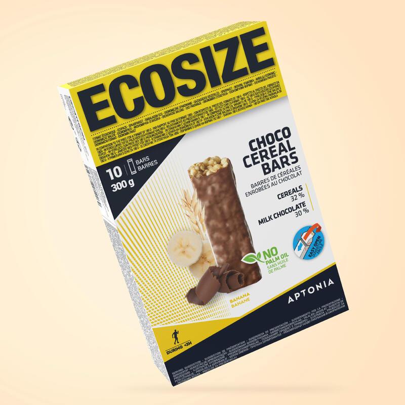 BARRA DE CEREAIS ECOSIZE COM COBERTURA DE CHOCOLATE/COCO 10X30 G
