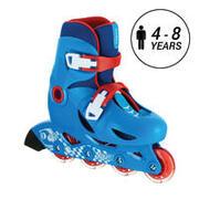Kids' Inline Skates Play 3 - Blue/Red