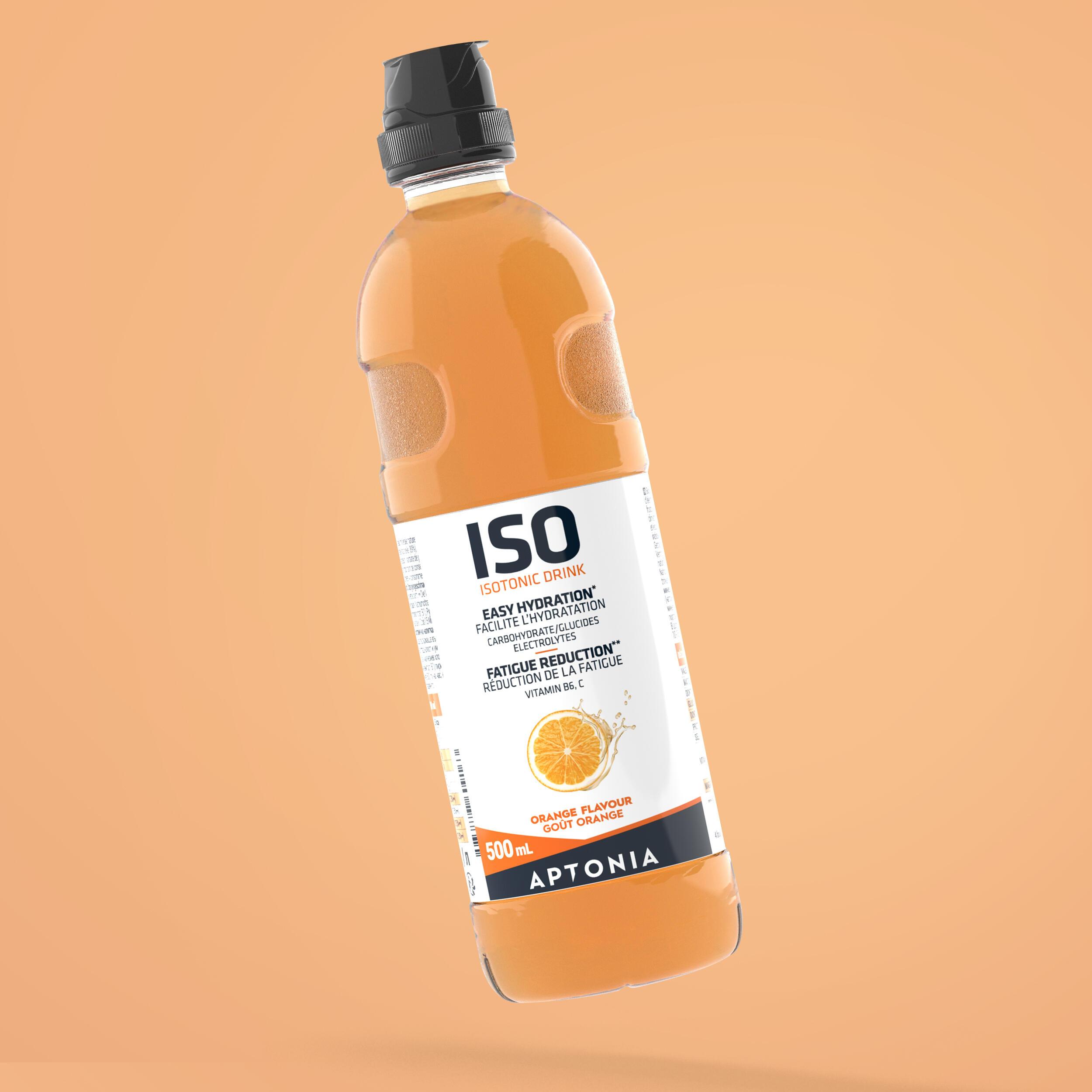 APTONIA. Bevanda isotonica pronta da bere ISO arancia 500ml