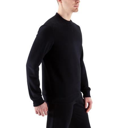 Bodybuilding Crew-neck Sweatshirt - Black