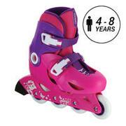 Kids' Inline Skates Play 3 - Pink/Purple