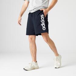 Calções de Ginástica e Pilates Adidas Homem Azul