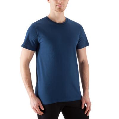 T-Shirt Gym & Pilates homme bleu marine Sportee