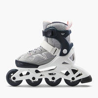 Kids' Inline Fitness Skates Fit3 - Abyss Grey