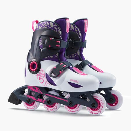 Play 5 Kids Skates - Light Grey