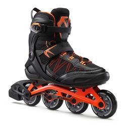 FIT500 成人滾軸溜冰鞋 - 亮橘色