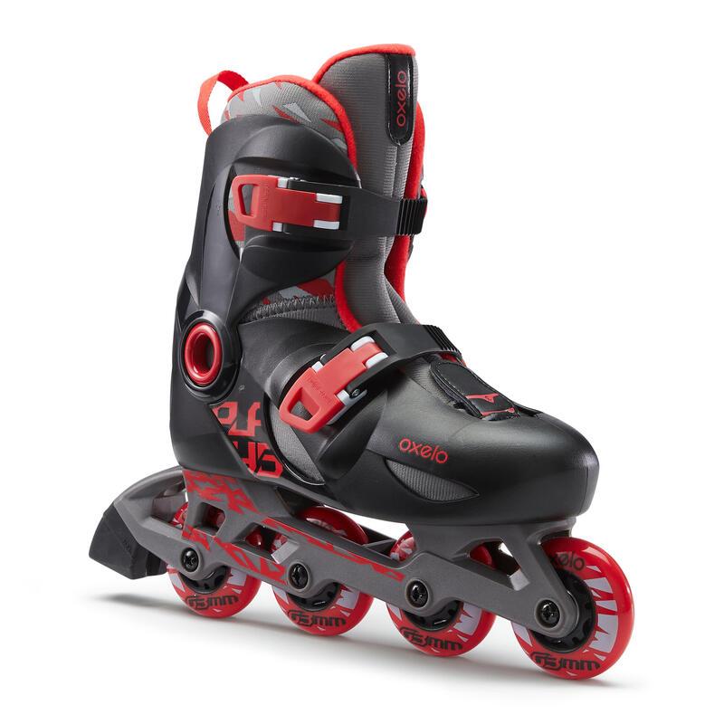 Play 5 Kids' Skates - Red/Black