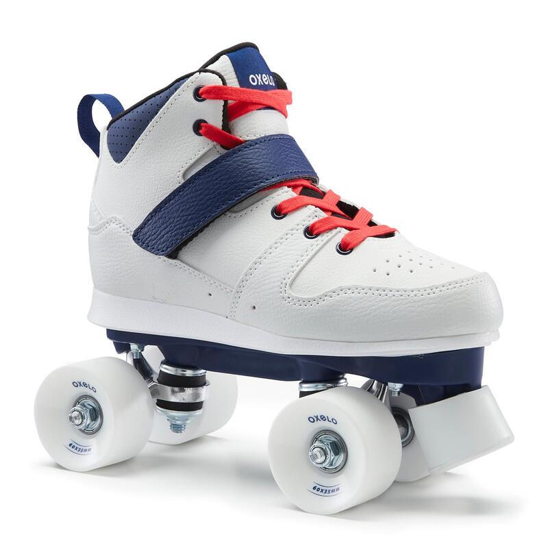 Quad 100 Adult Roller Skates - White
