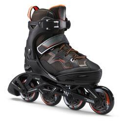 Inline-Skates Inliner Fitness FIT 3 Kinder schwarz/orange