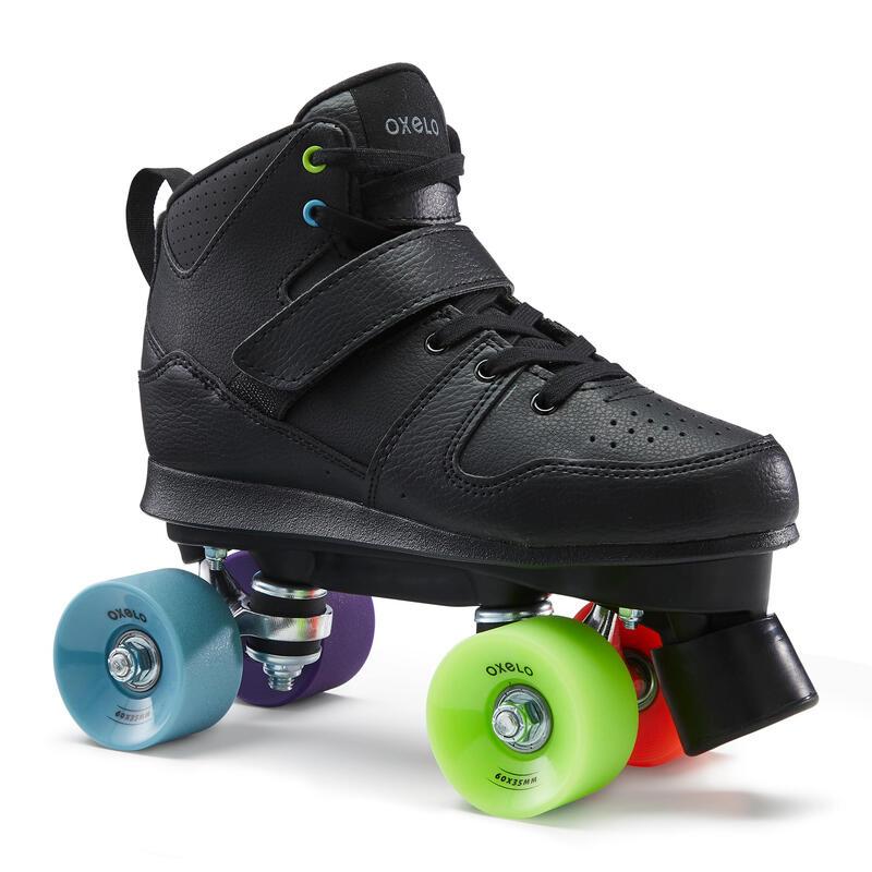 Quad 100 Adult Roller Skates - Black