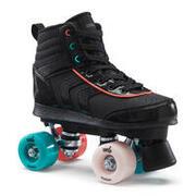 Kids Quad Roller Skates 100 JR - Black