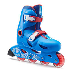 Roller bambino PLAY3 blu-rosso
