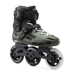 Inline Skates Inliner Triskate Freeskate MF900 HardBoot Erwachsene khaki