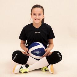 Volleyball V100 Soft 260–280 g ab 15 Jahren blau/weiss
