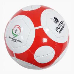 Bola de Futsal Mikasa Sintra 63 cm Branco/Vermelho FLL333S-WR