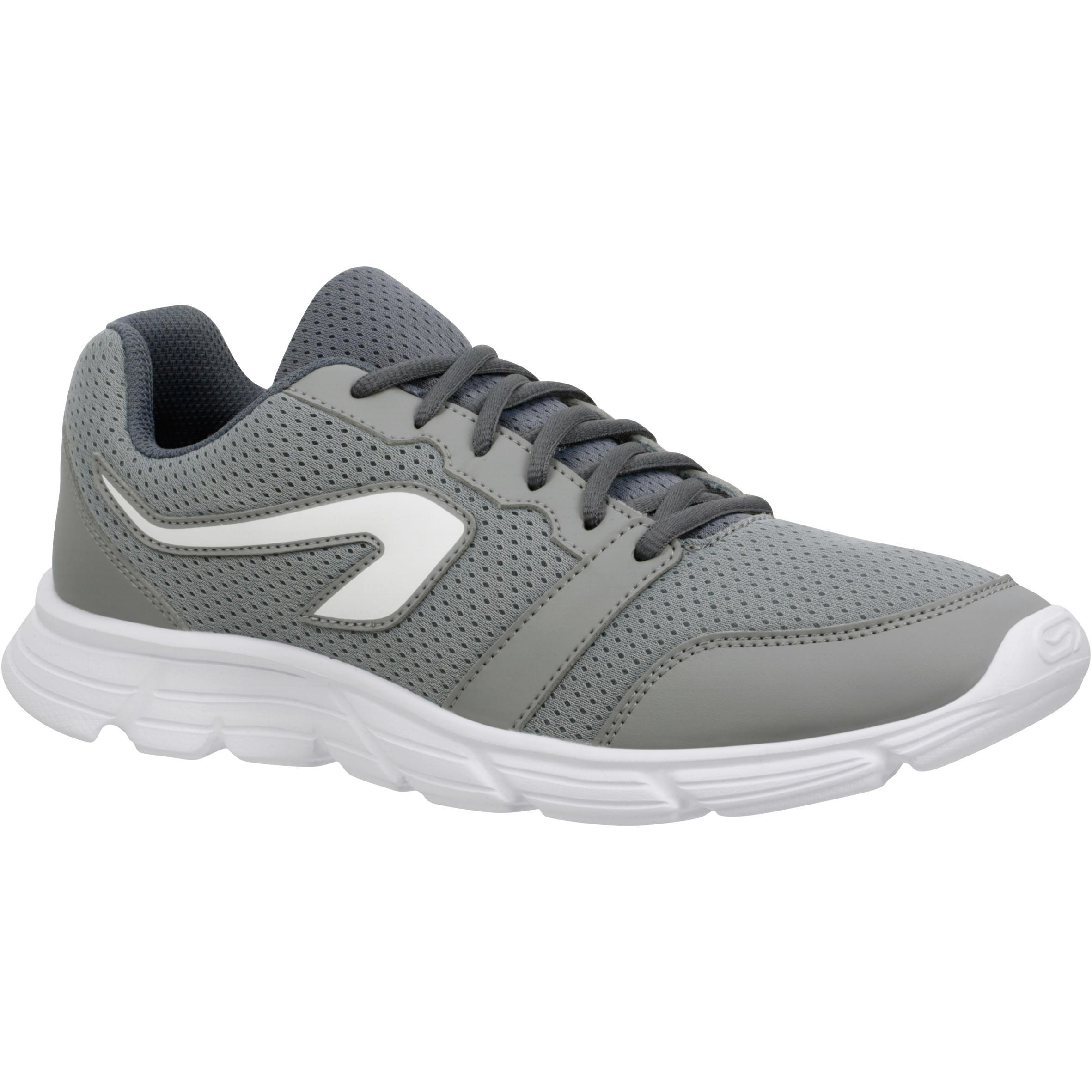 Run One Sepatu Lari Pria - Abu-abu