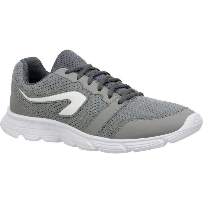 Joggingschoenen voor heren Run 100 grijs