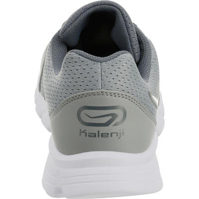 RUN 100 MEN'S RUNNING SHOES - GREY