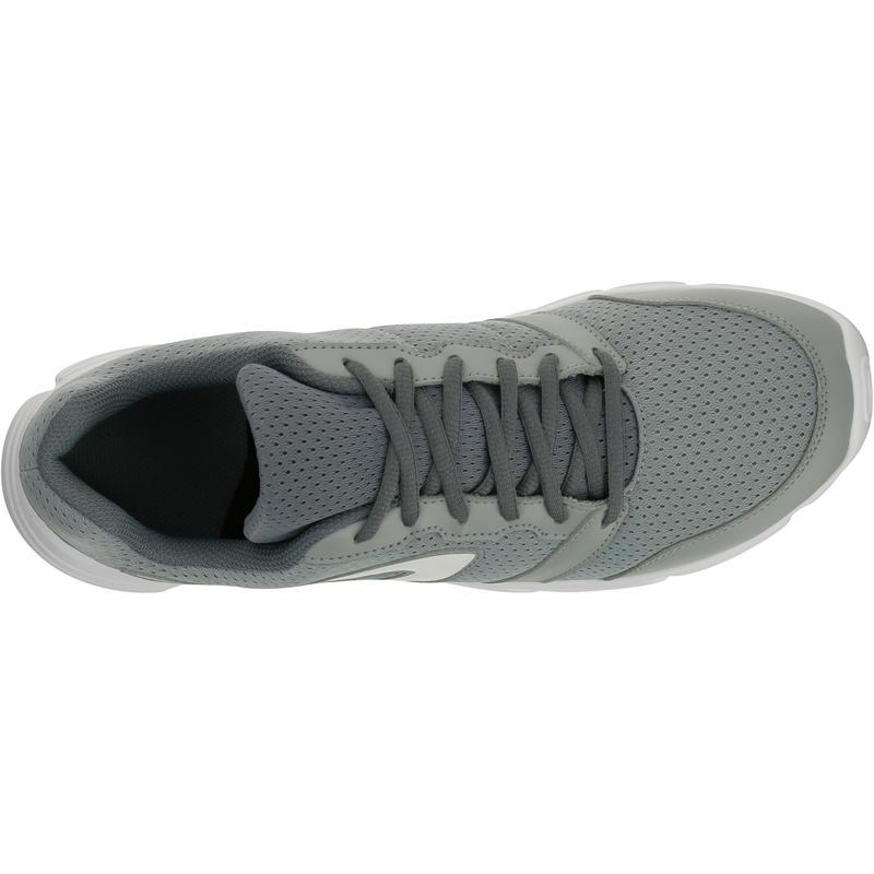 รองเท้าวิ่งสำหรับผู้ชายรุ่น RUN 100 (สีเทา)