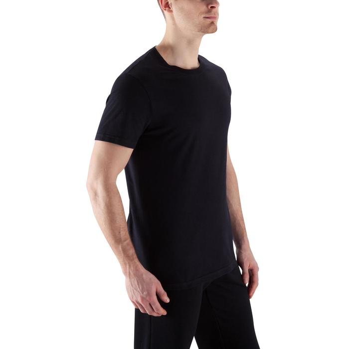 T-shirt Sportee 100% Coton Homme Noir