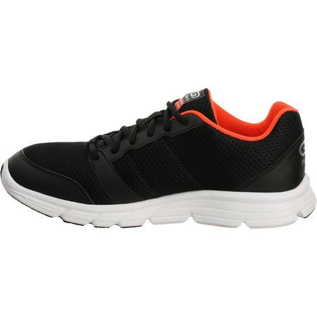 Run One Plus Men's Running Shoes - Black Red