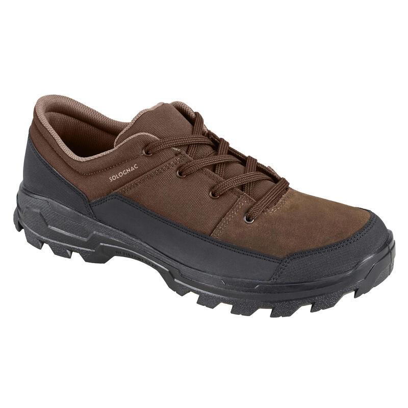 Chaussures chasse déperlantes Marron Crosshunt 100 Basse