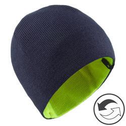 Skimütze Reverse Kinder marineblau/neongelb