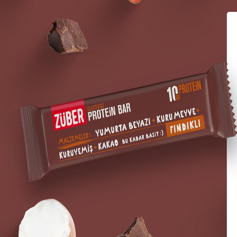 Züber Fındıklı Protein Bar