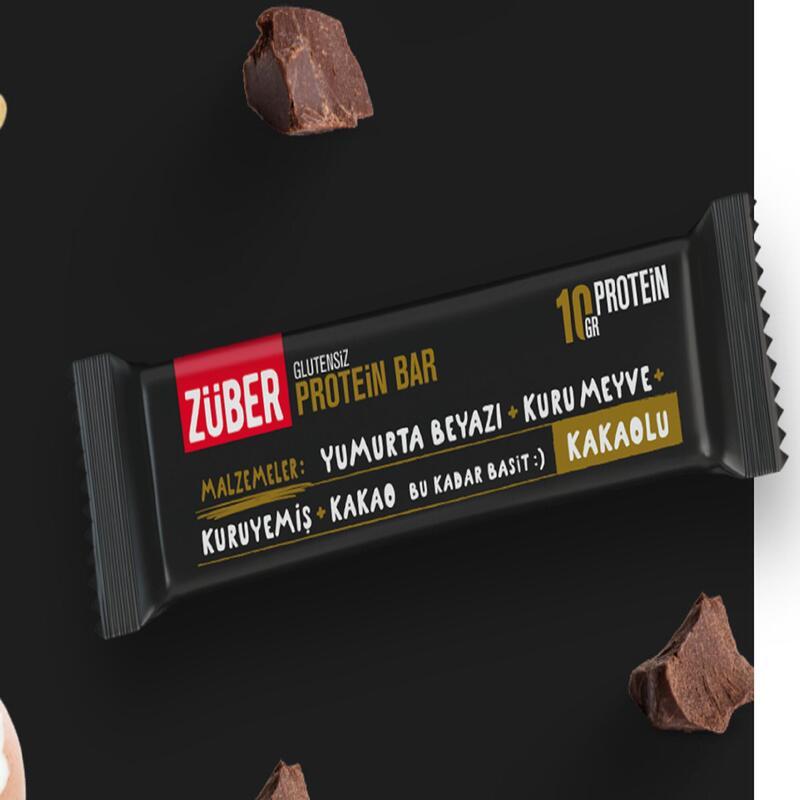 Züber Kakaolu Protein Bar