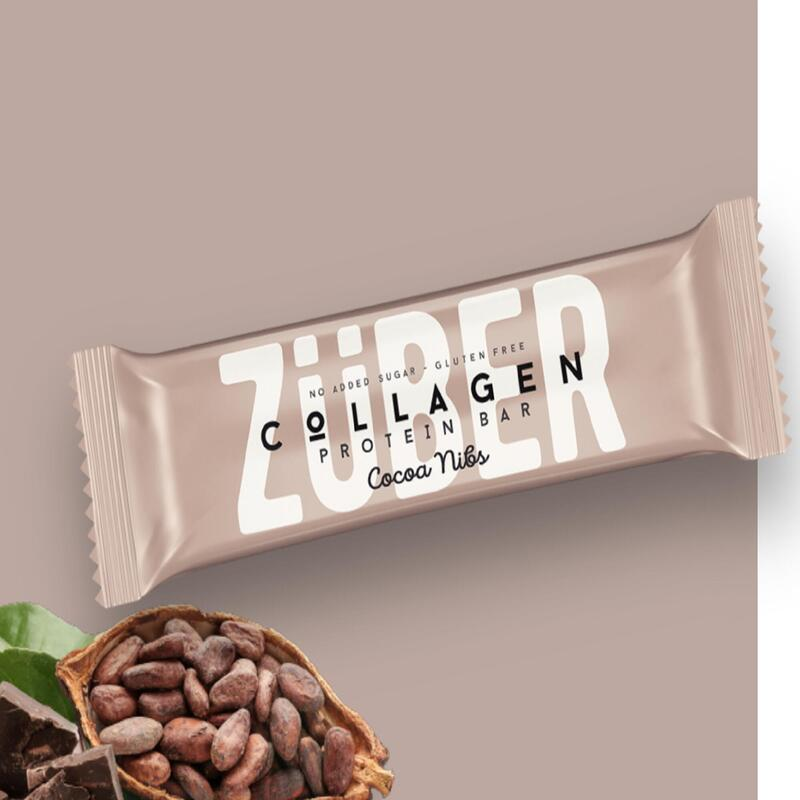 Züber Kakao Çekirdekli Kolajen Bar