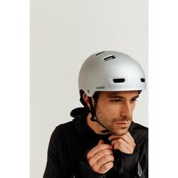 Capacete para Patins/Skate/Trotinete MF500 Cinzento