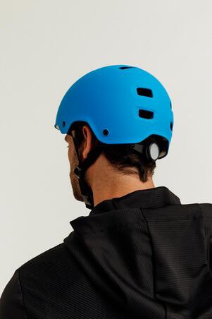 MF500 šalmas važinėti riedučiais, riedlente, paspirtuku – mėlynas