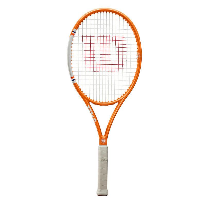 Raquette de tennis adulte WILSON ROLAND GARROS TEAM ORANGE (cordée)