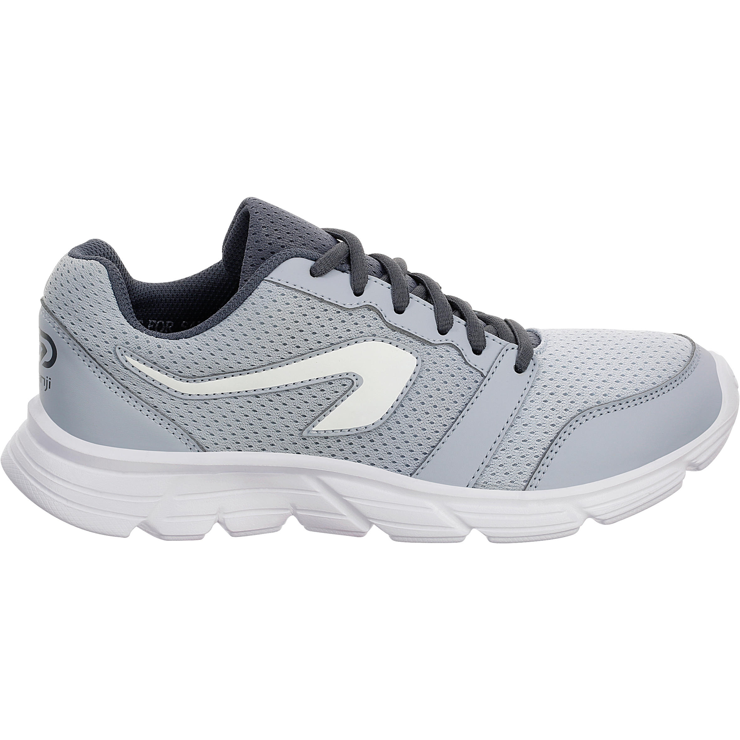 Chaussures Décathlon One Jogging Run Gris Femme WD2be9EHIY