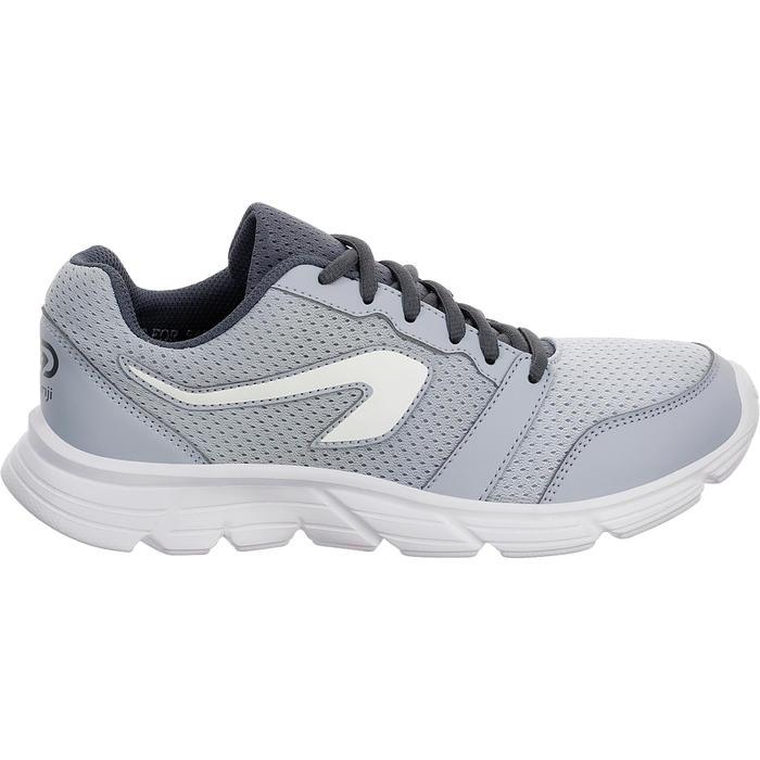 Laufschuhe Damen Run One grau