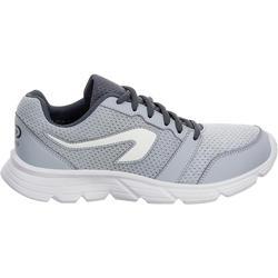 RUN ONE 女性跑步運動鞋 - 灰色
