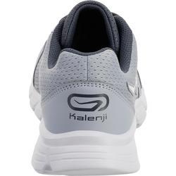 Zapatillas Running Kalenji Run One Mujer Gris Niebla/Blanco