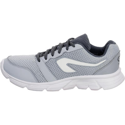RUN 100 WOMEN'S RUNNING SHOES - GREY