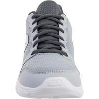 Chaussures jogging RUN100 gris – Femmes