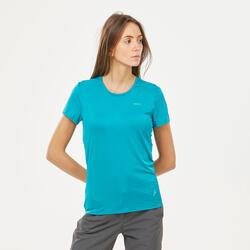 T-shirt de Caminhada na Montanha Mulher MH100