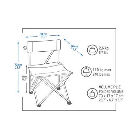 FOLDING CAMPING CHAIR - BASIC