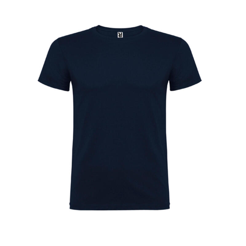 Camiseta manga corta niña niño básica Roly Beagle azul marino navy
