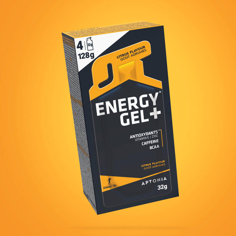 TYČINKY, GÉLY A PRÍPRAVKY PO SÚŤAŽI BEH - Energetický gél citrusový 4×32 APTONIA - BEH
