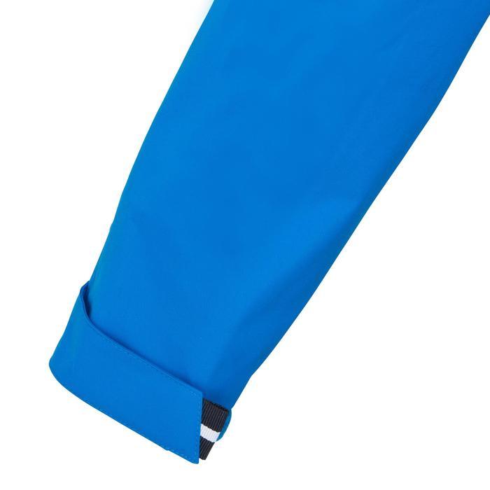 Segeljacke wasserdicht 100 Kinder leuchtendblau