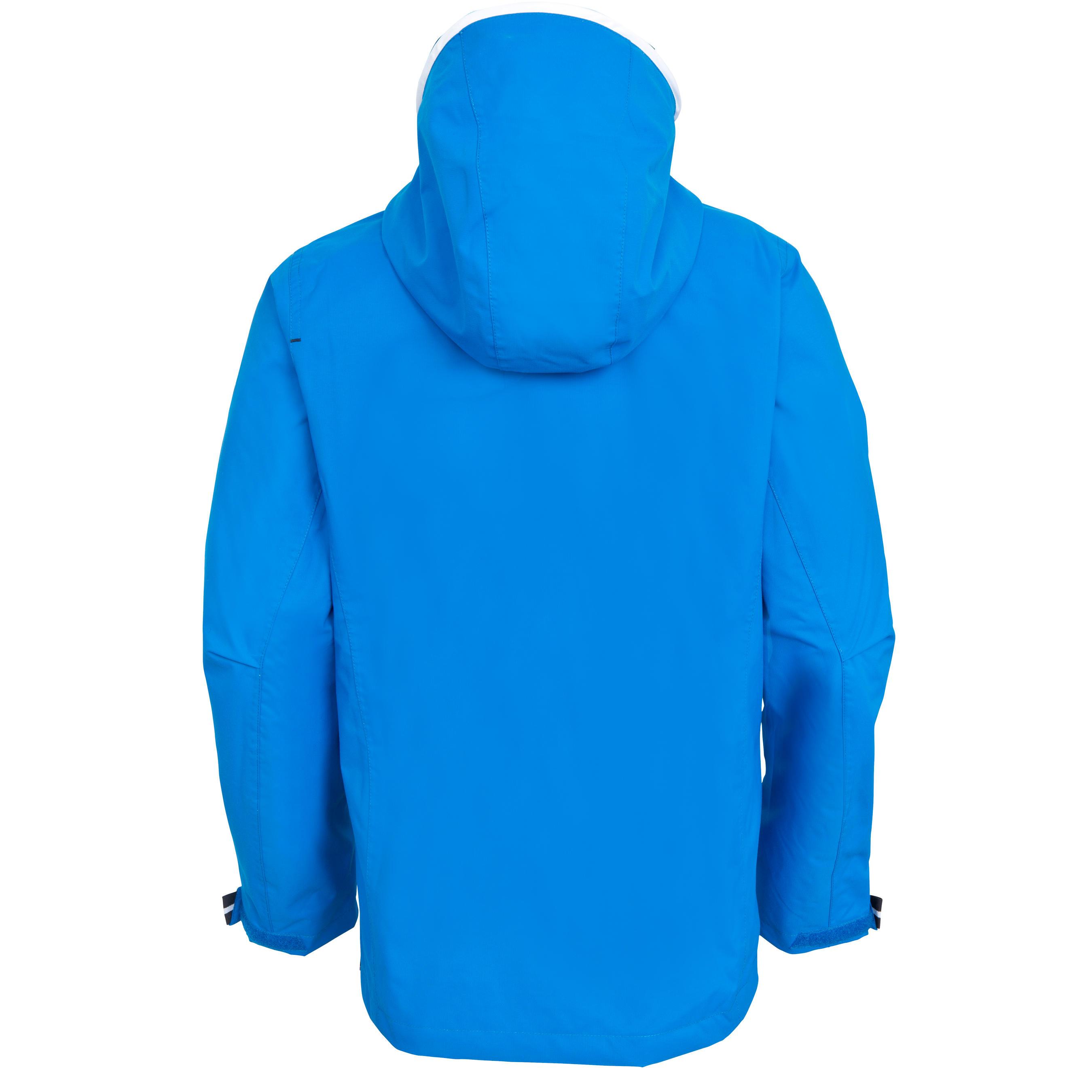 Ciré imperméable de voile enfant 100 bleu vif