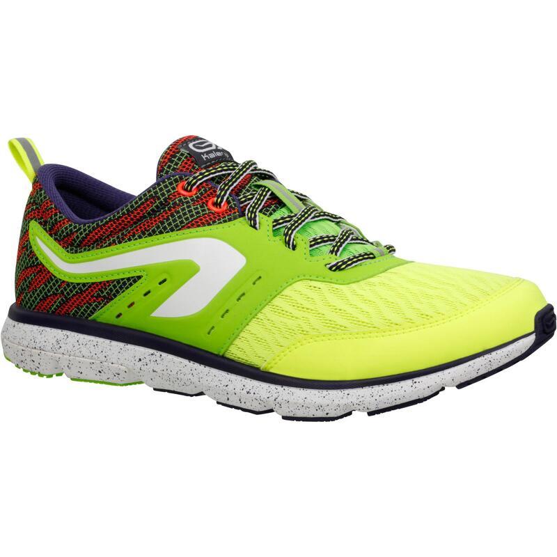Hardloopschoenen voor heren Eliorun geel/groen