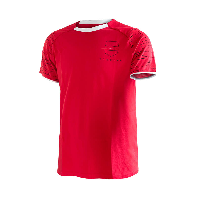 Türkiye Forması - Yetişkin - Kırmızı / Beyaz - FF100