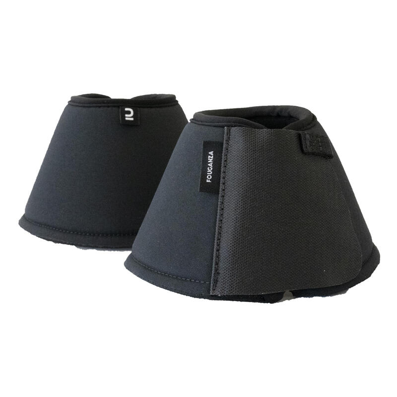 Horse and pony bell boots - Twin pack