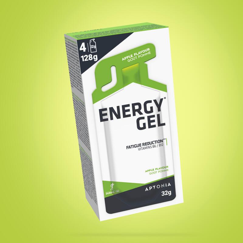 Gel energético ENERGY GEL manzana 4 x 32g
